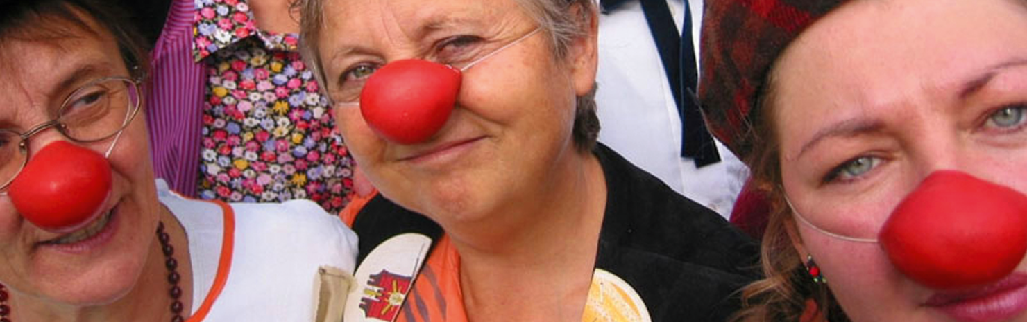 clown humor therapie